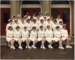 Maine School of Practical Nursing graduating class, Waterville, 1983