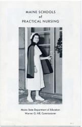 Maine School of Practical Nursing Brochure, 1963