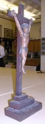 Crucifix belonging to Father John Bapst, ca. 1850