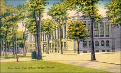 John Bapst High School, Bangor, ca. 1930