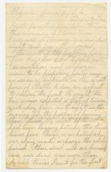 Marshall Phillips letter about Cold Harbor, 1864