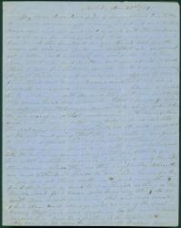 Capt. John Curtis letter to wife, Mobile, Ala., 1861