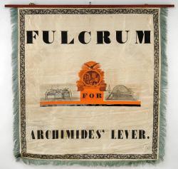 Printers' banner, Portland, 1841