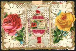 Nineteenth century valentine, ca. 1880