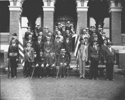 War veterans, Kittery, 1932