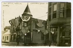 Lubec Post Office, Centennial celebration, 1911