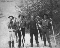 River drivers, ca. 1900