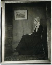 Frances L. Larrabee as 'Arrangement in Gray and Black,' 1923