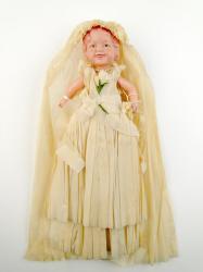 Wedding decoration doll, Peru, 1939