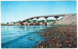 Roosevelt Bridge to Campobello, Lubec, ca. 1962