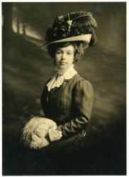Unidentified woman, Sanford, ca. 1900