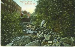 Sandpaper Mill, Vaughan Stream, Hallowell, ca 1910