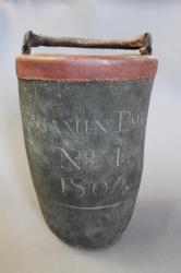 Union Fire Club, Fire Bucket, Hallowell, 1805