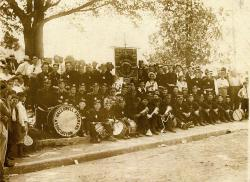 Fire Department Muster, Hallowell, ca. 1910