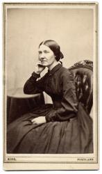 Ruth Mayhew, Portland, ca. 1860
