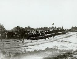 2nd Maine regiment at Christmas, 1861