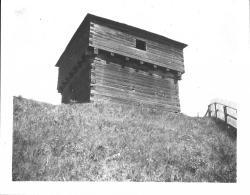 Fort Halifax Blockhouse, Winslow, ca. 1920
