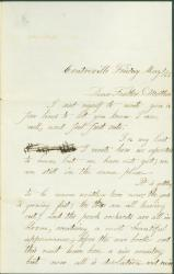 Leonard Valentine to parents, Virginia, 1863