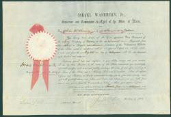 John W. Channing infantry appointment, Augusta 1861