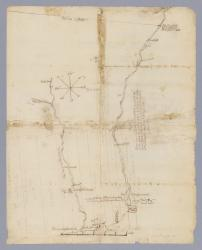 Plan of rivers of Saco and Kennebunk, 1731
