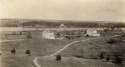 View east from the Prescott Building, Fairfield, ca. 1920