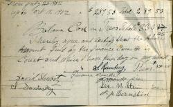 Shaarey Tphiloh Finance Committee statement, 1902