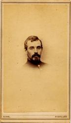 Civil War soldier, 1st Maine Cavalry