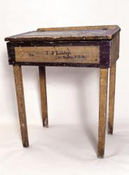 T.J. Libby 12th Maine Regiment desk