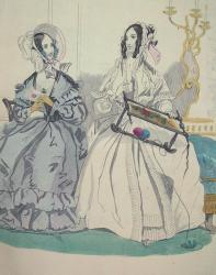 February Fashions 1840