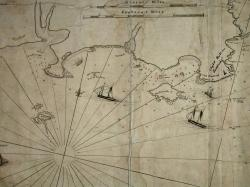 Detail from a Map of Portland Harbour and islands