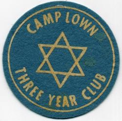 Camp Lown patch, Oakland, ca. 1957