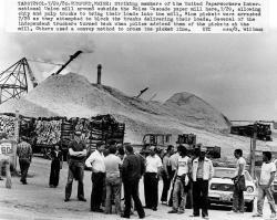 United Paperworkers International strike, Rumford, 1980