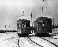 Westland Avenue Turnout, 1938