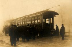 Portland Railroad Company car, 1920