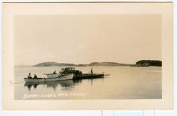 Auto Ferry, Lubec, ca. 1925