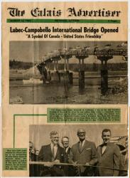 Campobello-Roosevelt Bridge Dedication, Lubec, 1962
