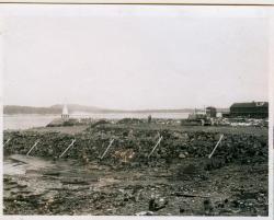 Campobello Roosevelt Bridge Construction, Lubec, ca. 1961