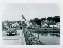 New bridge, Lubec, 1962