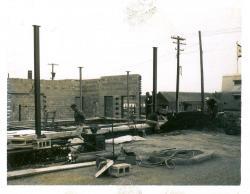 U.S. Customs and Post Office construction, Lubec, ca. 1963