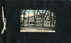 1917-18 Photo Album Cover, University of Maine Farmington