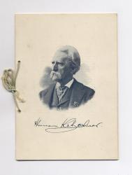 Program from 1899 Kotzschmar Jubilee