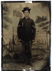 Sgt. Nelson W. Jones, 3rd Maine Infantry, ca. 1862