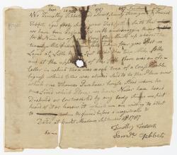 Tebbets deposition on Ten Mile Falls, 1787