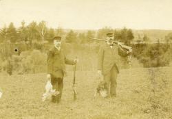 Bird hunting, Strong, ca. 1905