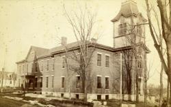 Farmington State Normal School, ca. 1880s