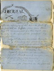 John P. Sheahan POW journal, 1864