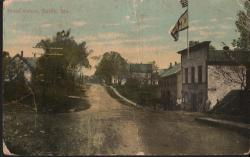 Main Street, Looking East, Surry, 1914