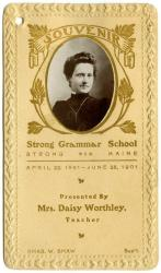 Souvenir, Strong Grammar School, 1901