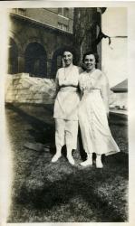 Arbor Day, Farmington State Normal School, 1917