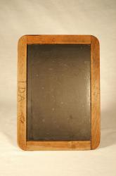 Slate tablet of Ida Allen, Strong, 1892